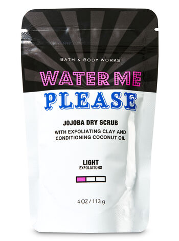 Signature Collection Water Me, Please Jojoba Dry Body Scrub - Bath And Body Works