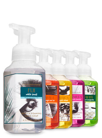 Destination Vacation Gentle Foaming Hand Soap, 5-Pack - Bath And Body Works
