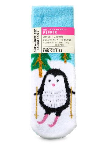 Pepper the Penguin Shea-Infused Lounge Socks