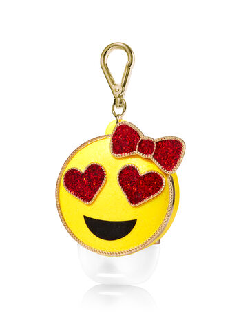 Heart Eye Emoji PocketBac Holder - Bath And Body Works