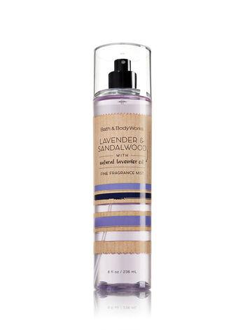 Signature Collection Lavender & Sandalwood Fine Fragrance Mist - Bath And Body Works