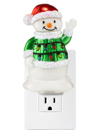 Ugly Christmas Sweater Snowman Nightlight Wallflowers Fragrance Plug