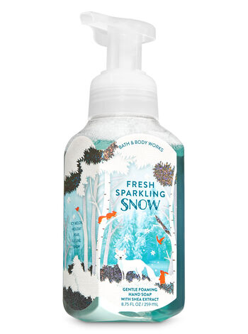 Fresh Sparkling Snow Gentle Foaming Hand Soap - Bath And Body Works