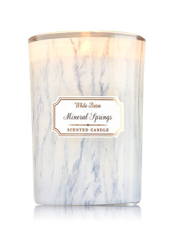 Mineral Springs Medium Candle - Bath And Body Works