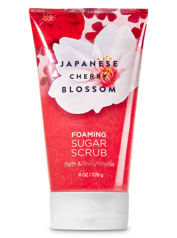 Signature Collection Japanese Cherry Blossom Foaming Sugar Scrub - Bath And Body Works