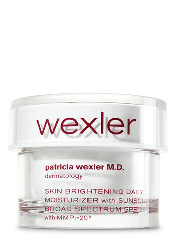 Wexler Skin Brightening Daily Moisturizer With Sunscreen SPF 28 - Bath And Body Works