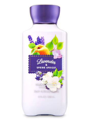 Signature Collection Lavender & Spring Apricot Body Lotion - Bath And Body Works
