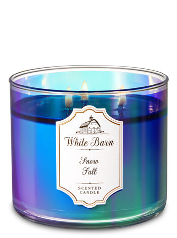 Snowfall 3-Wick Candle - Bath And Body Works