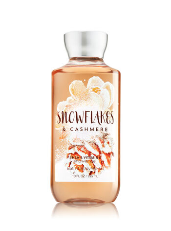 Signature Collection Snowflakes & Cashmere Shower Gel - Bath And Body Works