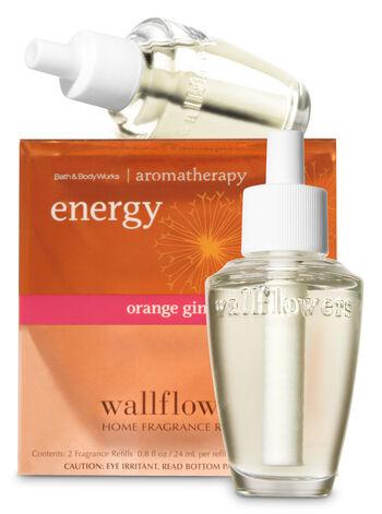 Energy - Orange & Ginger Wallflowers 2-Pack Refills - Bath And Body Works
