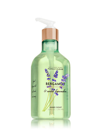 Bergamot & Wild Lavender Purely Clean Hand Soap - Bath And Body Works