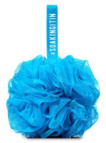 Blue Mesh Sponge - Bath And Body Works