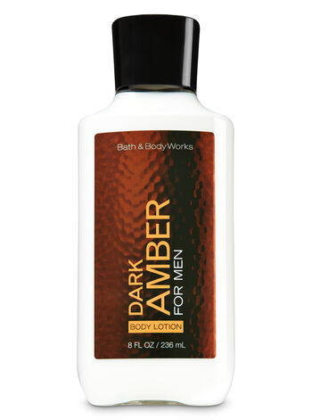 Signature Collection Dark Amber for Men Body Lotion - Bath And Body Works