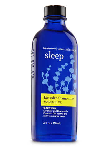 Aromatherapy Lavender Chamomile Massage Oil - Bath And Body Works