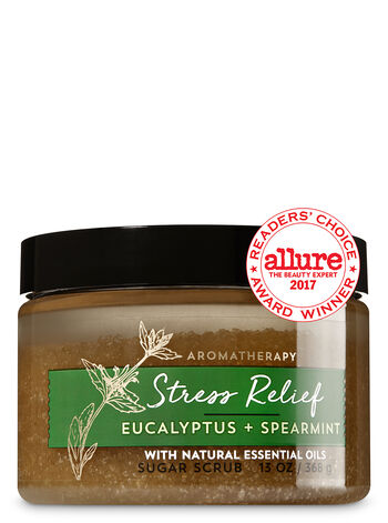 Aromatherapy Stress Relief - Eucalyptus & Spearmint Sugar Scrub - Bath And Body Works