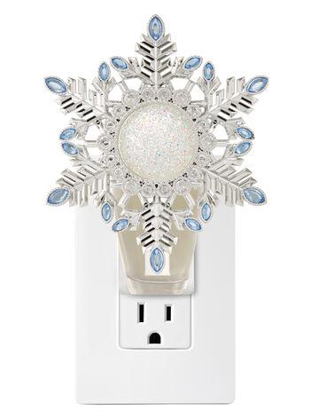 Glittery Gemstone Snowflake Nightlight Wallflowers Fragrance Plug