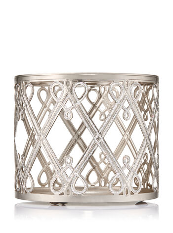 Holiday Hearts & Diamonds 3-Wick Candle Sleeve