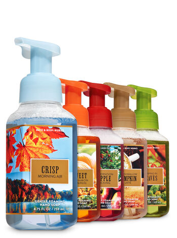 Fall Bucket List Gentle Foaming Hand Soap, 5-Pack - Bath And Body Works