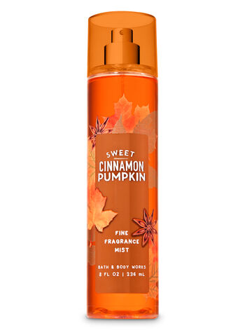 Signature Collection Sweet Cinnamon Pumpkin Fine Fragrance Mist - Bath And Body Works