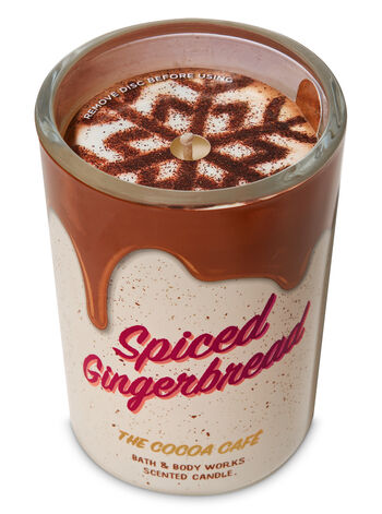 Spiced Gingerbread Single Wick Candle