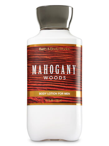Signature Collection Mahogany Woods  Body Lotion - Bath And Body Works