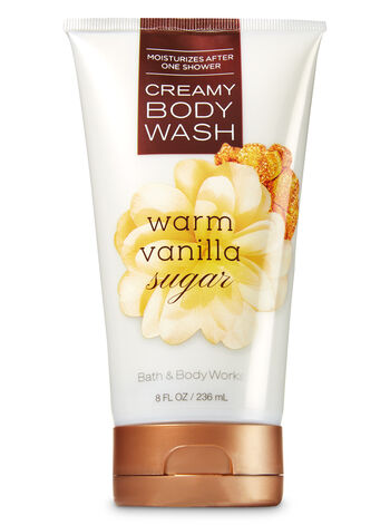 Signature Collection Warm Vanilla Sugar Creamy Body Wash - Bath And Body Works