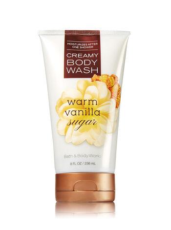 Signature Collection Warm Vanilla Sugar Creamy Body Wash - Bath And Body Works
