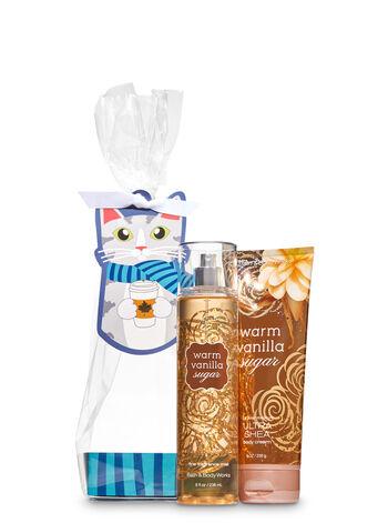 Warm Vanilla Sugar Fall Feline Gift Set