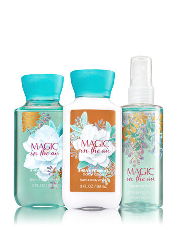 Signature Collection Magic in the Air Travel Size Daily Trio - Bath And Body Works