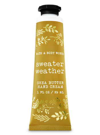 Signature Collection Sweater Weather Hand Cream - Bath And Body Works