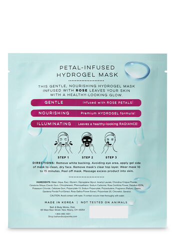 Petal-Infused Hydrogel Gentle with Rose Face Sheet Mask