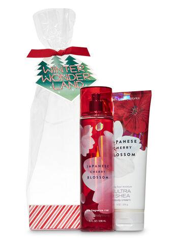 Japanese Cherry Blossom Winter Wonderland Gift Set