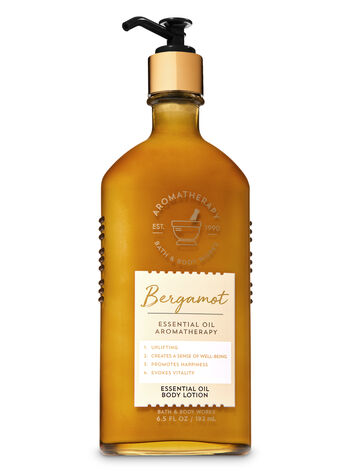 Aromatherapy Bergamot Essential Oil Body Lotion - Bath And Body Works