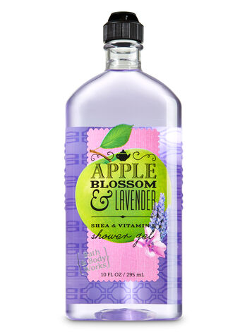 Signature Collection Apple Blossom & Lavender Shower Gel - Bath And Body Works