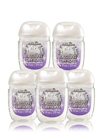 Dazzling Diamond 5-Pack PocketBac Sanitizers - Bath And Body Works