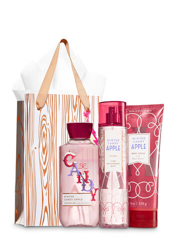 Winter Candy Apple Rose Gold & Natural Gift Kit
