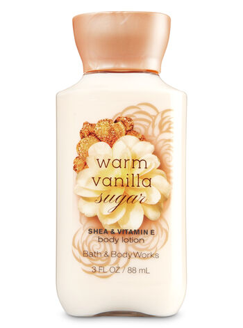 Signature Collection Warm Vanilla Sugar Travel Size Body Lotion - Bath And Body Works
