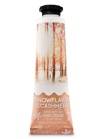 Snowflakes & Cashmere Hand Cream - Bath And Body Works