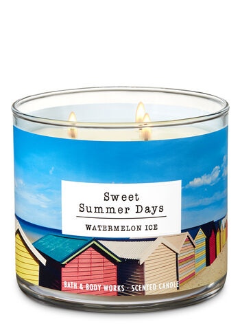 Watermelon Ice 3-Wick Candle - Bath And Body Works