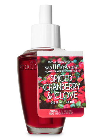 Spiced Cranberry Clove Wallflowers Fragrance Refill - Bath And Body Works