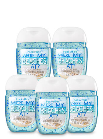 Where My Beaches At? 5-Pack PocketBac Sanitizers - Bath And Body Works