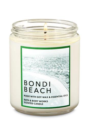 Bondi Beach Single Wick Candle - Bath And Body Works