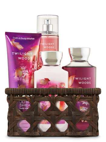 Twilight Woods Basket of Favorites Gift Kit - Bath And Body Works