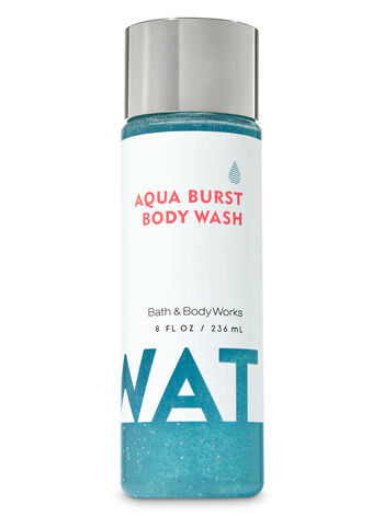 Water Aqua Burst Body Wash - Bath And Body Works