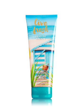 Signature Collection Live Fresh - Seaside Breeze Body Cream - Bath And Body Works