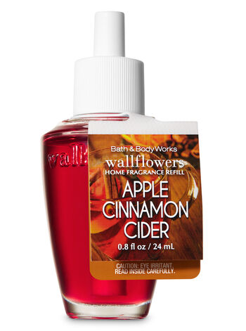 Apple Cinnamon Cider Wallflowers Fragrance Refill - Bath And Body Works