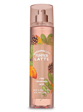 Marshmallow Pumpkin Latte Fine Fragrance Mist - Bath And Body Works
