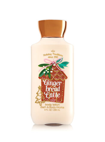 Signature Collection Gingerbread Latte Body Lotion - Bath And Body Works