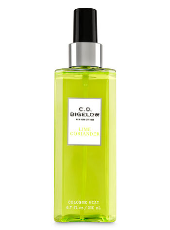 C.O. Bigelow Lime Coriander Cologne Mist - Bath And Body Works