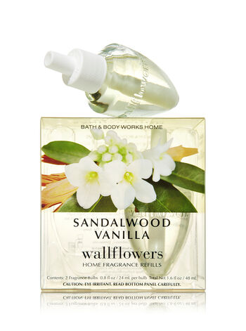 Sandalwood Vanilla Wallflowers 2-Pack Refills - Bath And Body Works